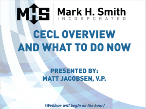 CECL Overview & What To Do Now-Pic & Video Link