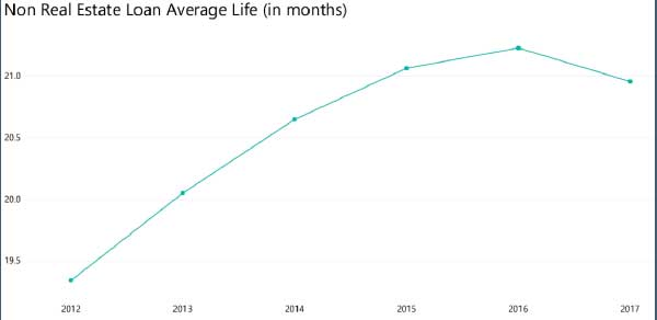 Non Real Estate Loan Average Life