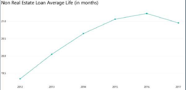 Non Real Estate Loan Average Life