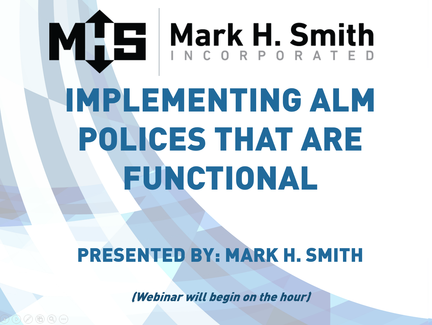 Implementing ALM Polices that are Functional Webinar Video