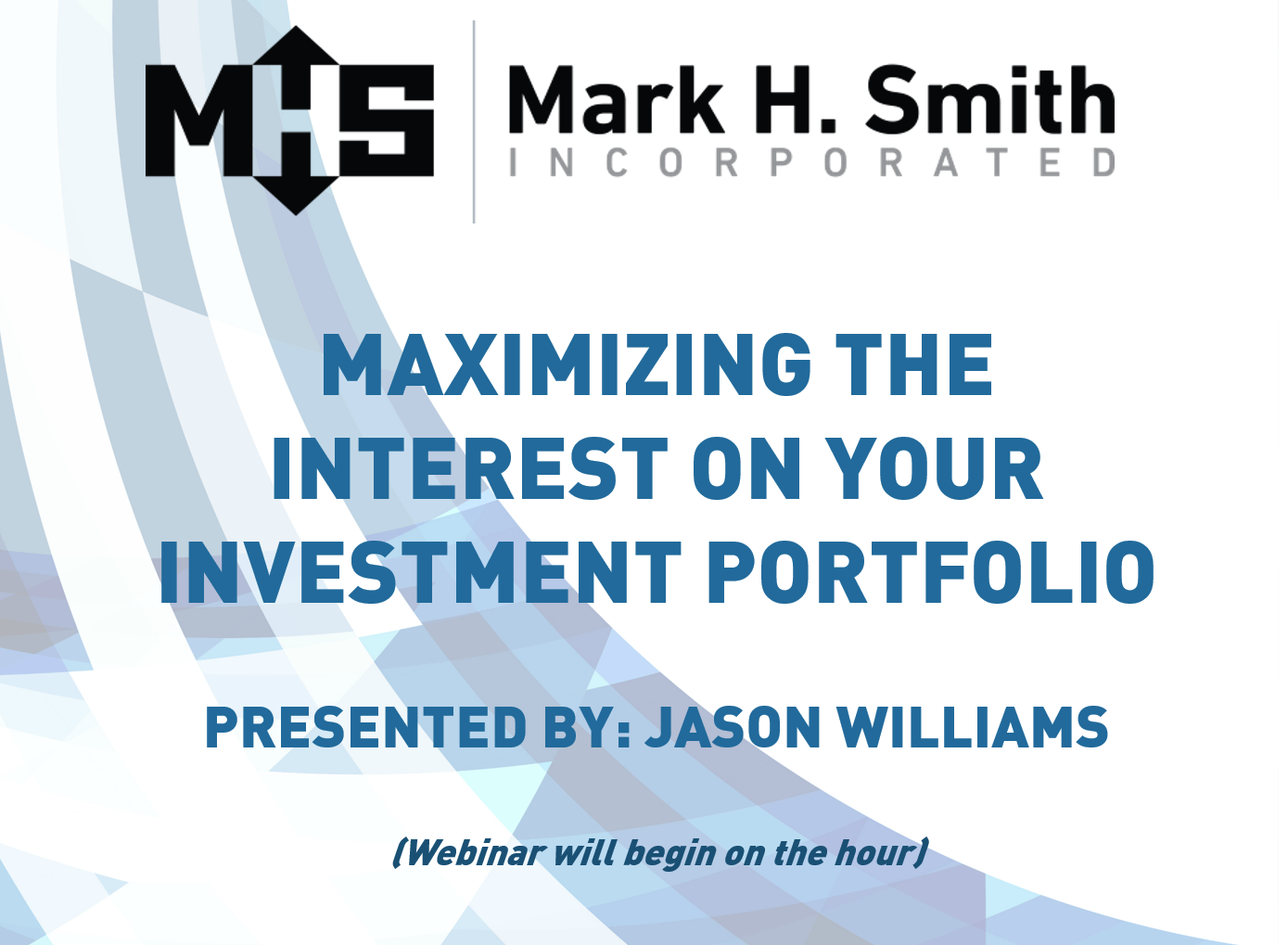 Maximizing the Interest on Your Investment Portfolio
