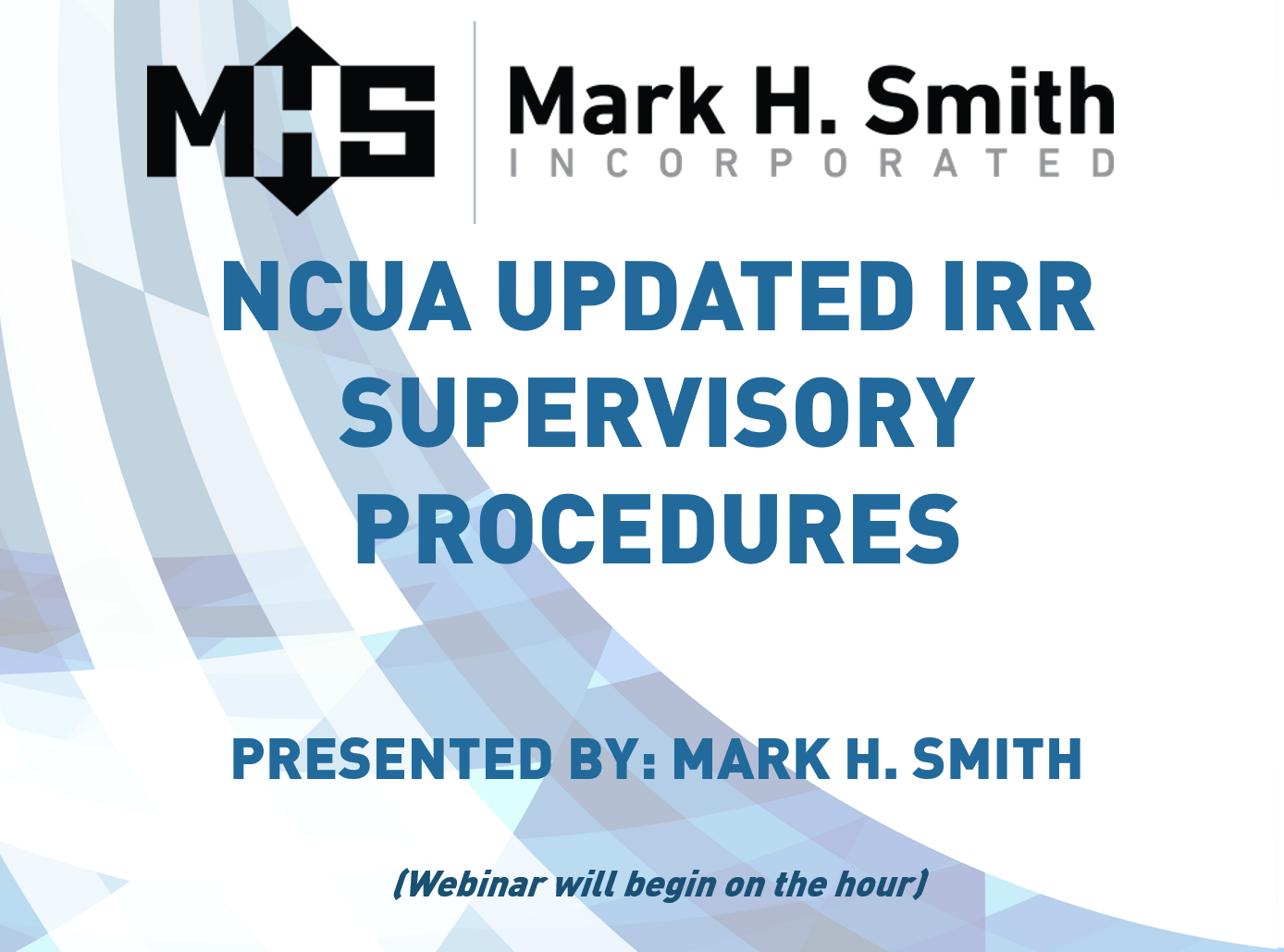 NCUA Updated IRR Supervisory Procedures