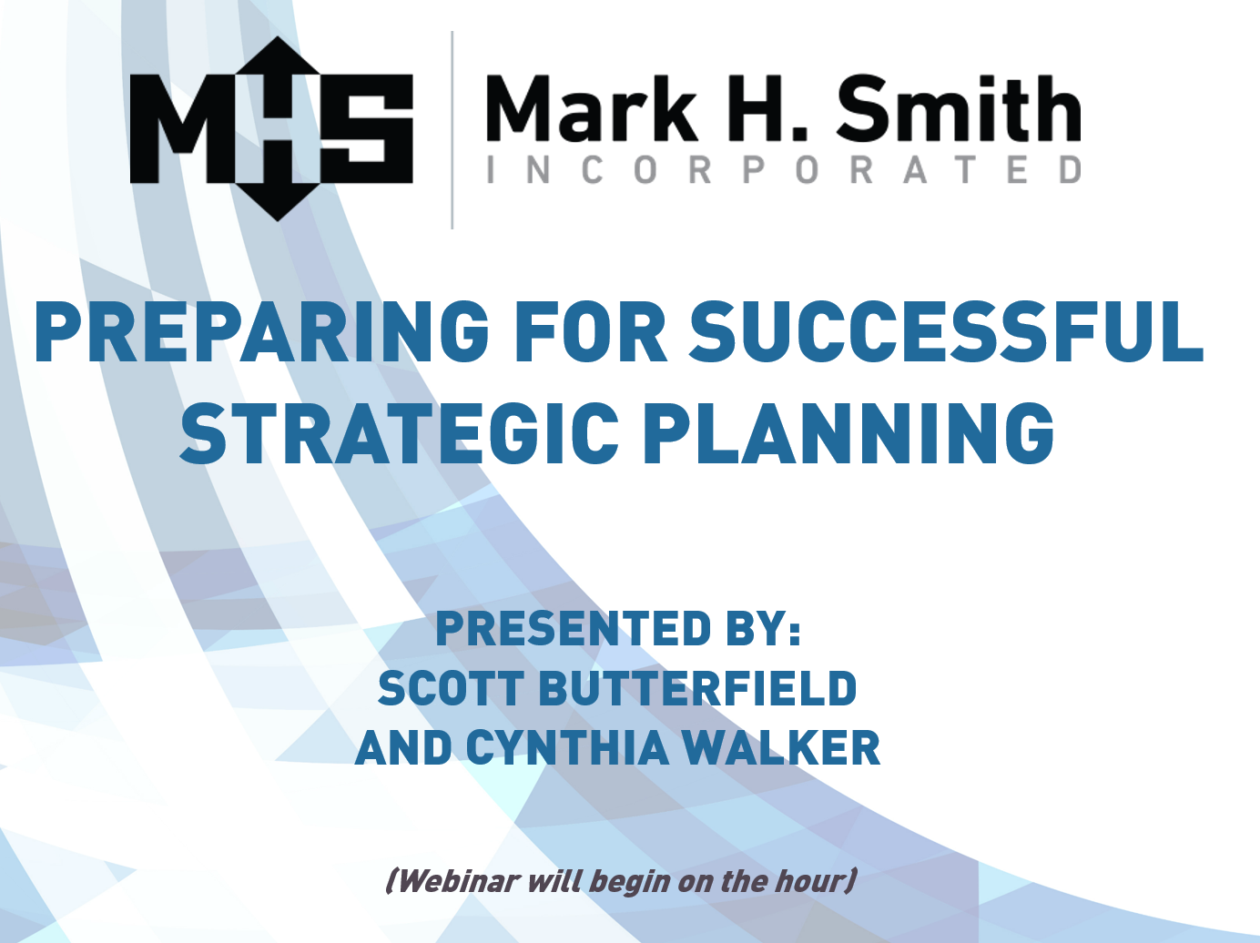 Preparing for Successful Strategic Planning