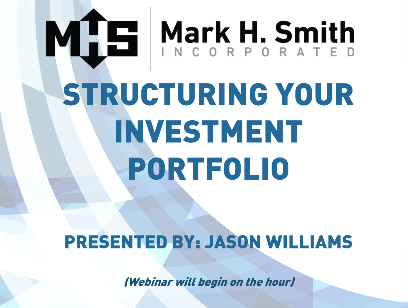 Structuring Your Investment Portfolio for Liquidity Webinar